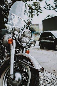 Motorcycle, City, Road, Vehicle