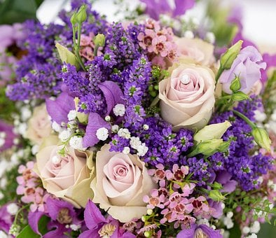 Deco, Wedding, Decoration, Background, Flowers