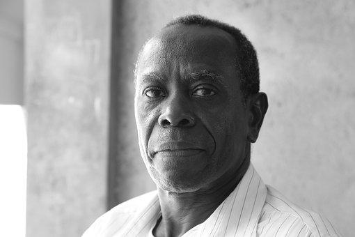 Haiti, Wisdom, Natural Light, Portrait, Black And White