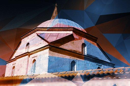 Mosque, Art, Edirne, Islam, Turkey, Religion