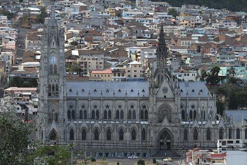 Basilica, Quito, Ecuador, Cascocolonial
