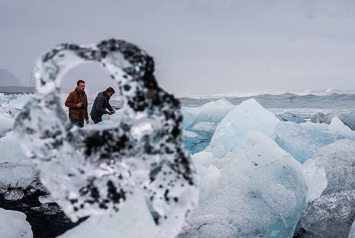Background, Beach, Breidamerkurjokull, Cold, Detail