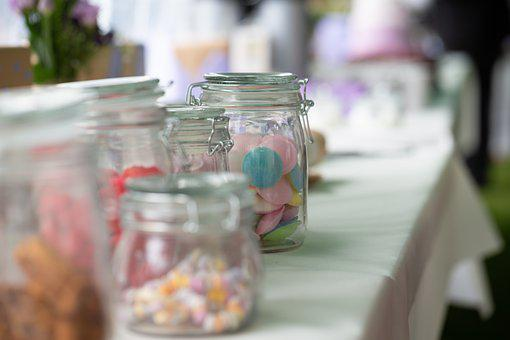 Deco, Wedding, Candy, Decoration, Background, Love