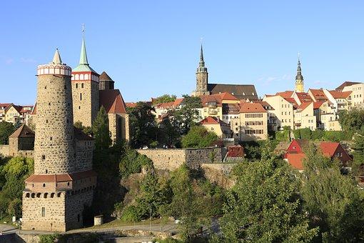 Europa, Europe, Germany, Bautzen, Old City, Towers