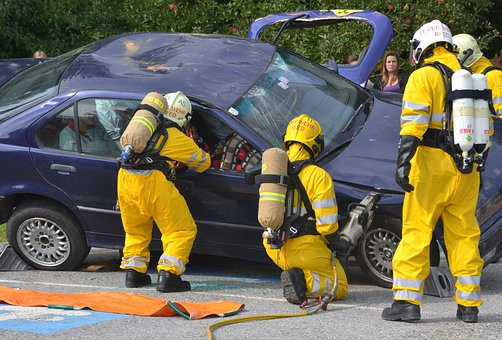 Auto, Accident, Car Accident, Traffic Accident, Fire