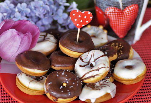 Mini, Donuts, Home, Baking, Sweet, Pastry, The Frosting