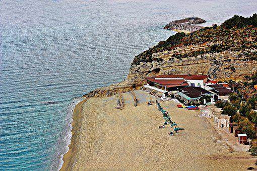 Italy, Calabria, Tropea, Sea, Water, Mediterranean