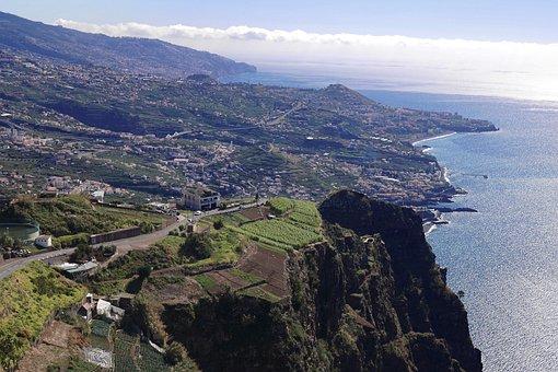 Madeira, Coast, Sea, Island, Nature, Funchal, Atlantic