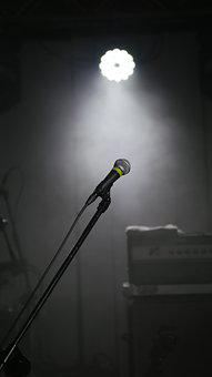 Concert, Microphone, Event, Light, Replacement Lamp