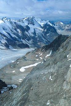 High Mountains, Mountains, Rock, Mountaineering