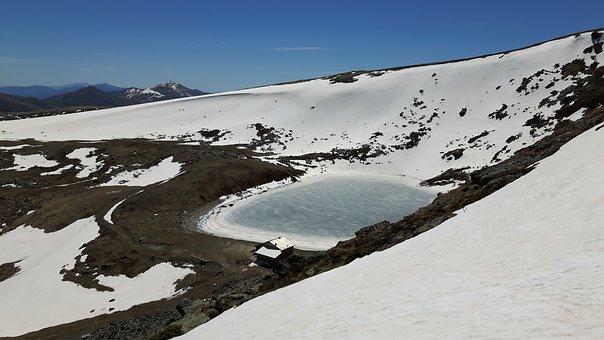 Mountains, Lake, Landscape, Nature, Scenery, Alpine