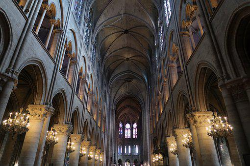 Notre Dame, Church, Paris, France, Cathedral