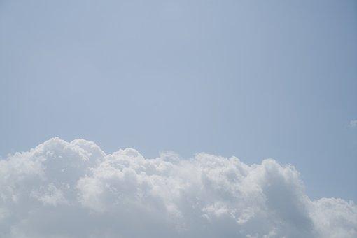 Cloud, Air, Blue, Sky, Rain, Storm, Day, Out, Summer