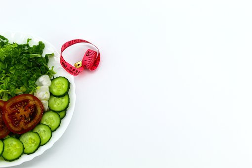 Background, White, Plate, Cucumbers, Sliced
