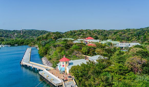 Roatan, Welcome Center, Walkway, Nature, Pathway