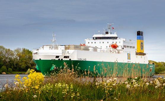 Nok, Ship, Freighter, Shipping, Frachtschiff