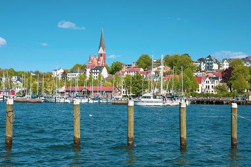 Flensburg, Port, St Jürgen's Church