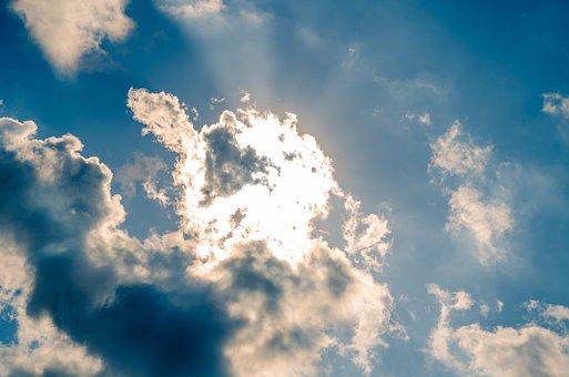 Sky, The Cloud, Sunlight, I, Cloudscape, Atmosphere