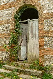 Door, Arc, Building, Architecture, Expired, Old, Trap