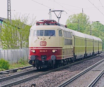 Intercity, Fernzug, Express Train, Br103, Br 103