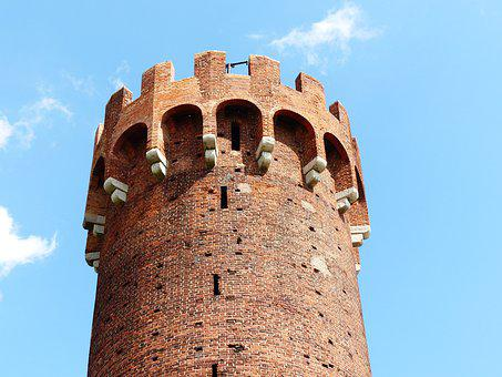 Castle Tower, Castle In The World, The Gothic, Poland