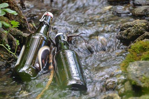 Beer Bottle, Beer, Bach, Water, Cool, More, Bottle