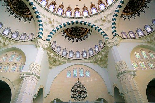 Cami, Dome, Islam, Religion, Architecture, Beautiful