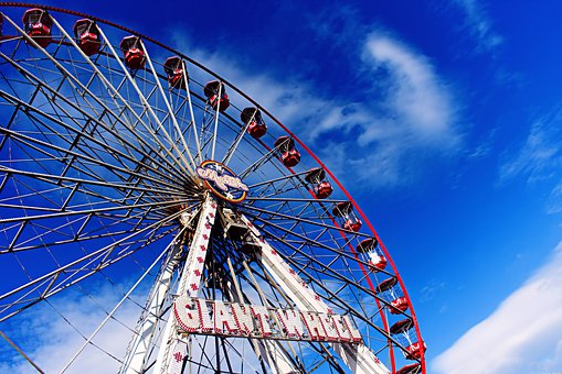Giant Wheel, Fairground, Ferris, Enjoy, Fair, Amusement