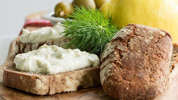 Bread, Eat, Lemon, Fish, Healthy, Food, Nutrition