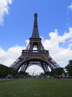 Paris, France, Eiffel Tower, French, Landmark, Urban