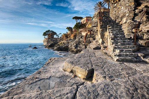 Recco, Liguria, Genoa, City, Sea, Landscape, Tourism