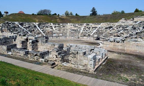 Greece, Larissa, Theatre, Ancient, 3rd Century B, C