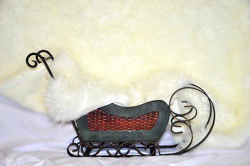 Sled, Holiday, Photo Props, Picture, Photo Backdrop