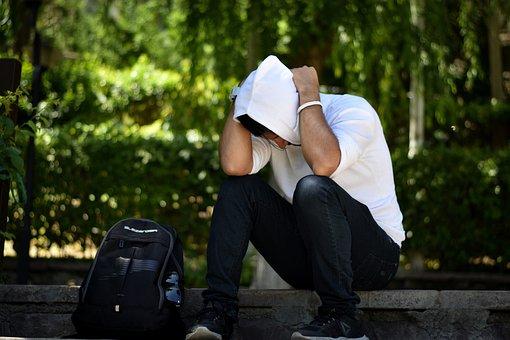 Sad, Upset, Depression, Unhappy, Stress, Homeless
