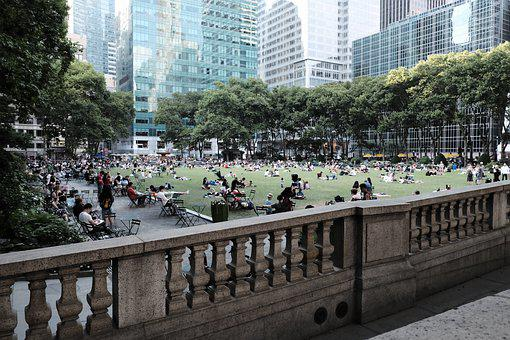 Park, City Park, In New York City, Manhattan