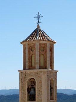 Bell Tower, Mudejar, Freemasonry, Mills, Teruel