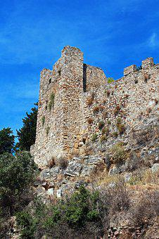 Fortress, Nafpaktos, Greece, Tower, Antiquity