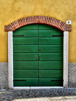 Door, Building, Architecture, Old, House, Entrance