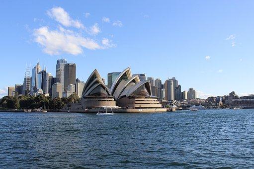 Sydney, Australia, Travel, Harbour, Port, Operahouse