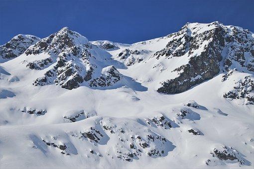 Snow, Mountains, Julierpass, Biel, Majestic, Peak