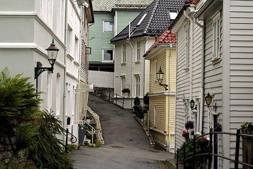 Street, People, Wood, Architecture, City, House