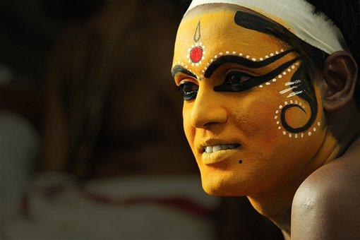 Kerala, India, Portrait, Face, People, Man, Artist