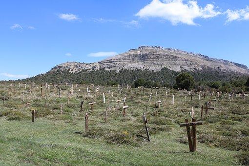 Photography, Cemetery, Sad, Hill, Sadhill, Contreras