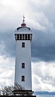 Lighthouse, Beacon, Baltic Sea, Sea, Tower, Building