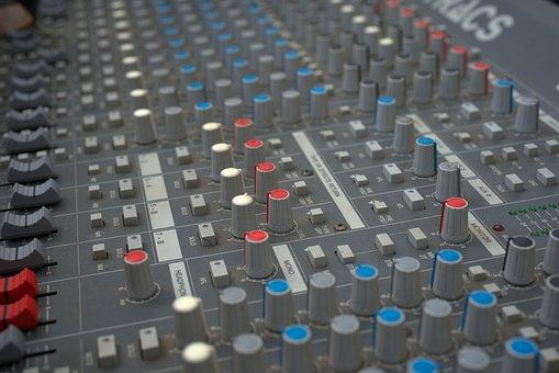 Sound Studio, Audio, Music, Mix, Digital, Equipment