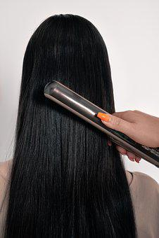 Hair, Long Hair, Straightening, Woman, Girl, Beauty