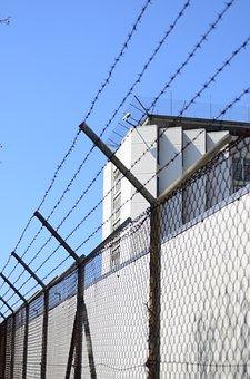 Stuttgart, Stammheim, Prison, Barbed Wire