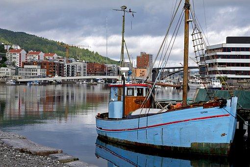 Boat, Fishing, Fisherman, Sea, Beach, Lake, Fish