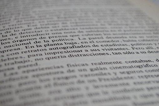 Book, Text, Words, Macro, Focus, Literature, Education