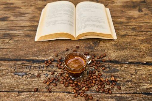 Coffee, Core, Book, Read, Aroma, Caffeine, Roasted